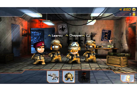 Gameplay Glimpse: Tiny Troopers: Joint Ops - YouTube