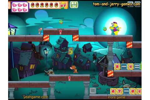 Lets play Tom And Jerry Math Adventure - YouTube