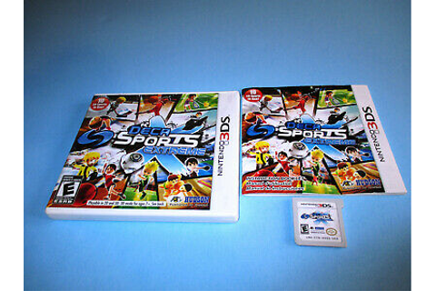 Deca Sports Extreme (Nintendo 3DS) XL 2DS Game w/Case ...