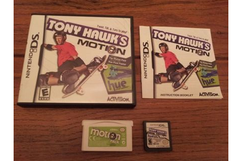Free: TONY HAWK'S MOTION ~ NINTENDO DS VIDEO GAME! WITH ...