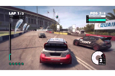 DiRT 3 (PS3 Gameplay) - YouTube