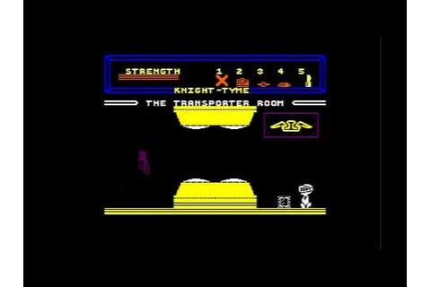 Knight Tyme - Amstrad CPC 464 - YouTube