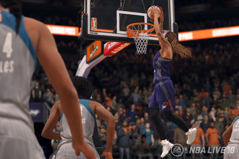 The WNBA comes to video games in NBA Live 18 - Polygon