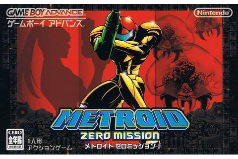 Metroid - Zero Mission - Gameboy Advance(GBA) ROM Download