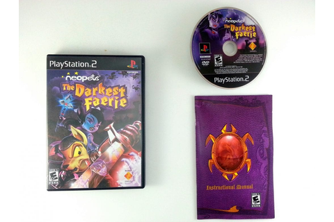 NeoPets the Darkest Faerie game for Playstation 2 ...