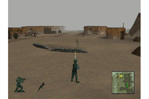 Army Men 3D (1998) by 3DO PS game