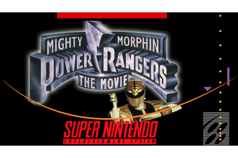 Mighty Morphin Power Rangers: The Movie [Super Nintendo ...