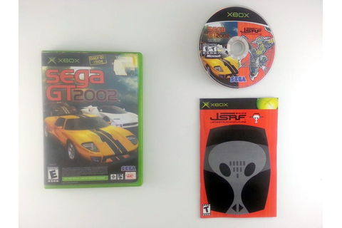 Sega GT 2002 JSRF Combo game for Xbox (Complete) | The ...