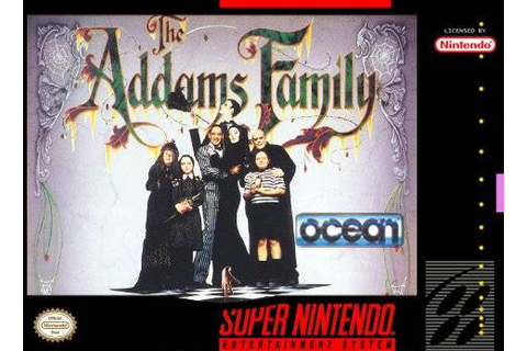 The Addams Family SNES Super Nintendo