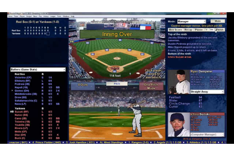 Baseball Mogul 2014 - Gameplay - YouTube