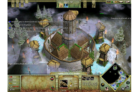 Age of Mythology: The Titans - PC Review and Full Download ...