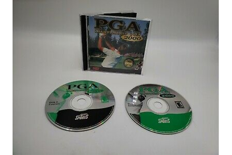 PGA Championship Golf 2000 CD-ROM Windows 95/98 PC Game ...