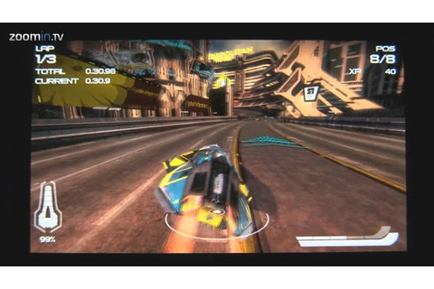 WipEout 2048 on European PS Vita - Gameplay (HD) - YouTube