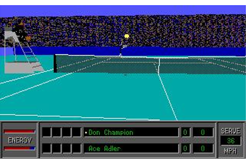 4D Sports Tennis Download (1990 Sports Game)
