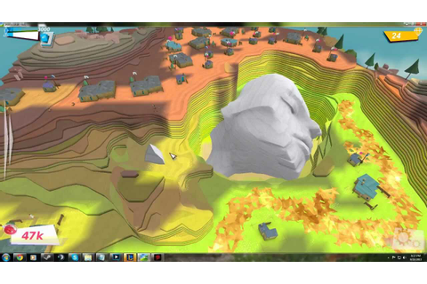 Godus, Multi player battles and EASTER EGG Hidden face ...