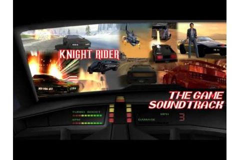 Knight Rider Video Game Soundtrack #15 Score #1 - YouTube