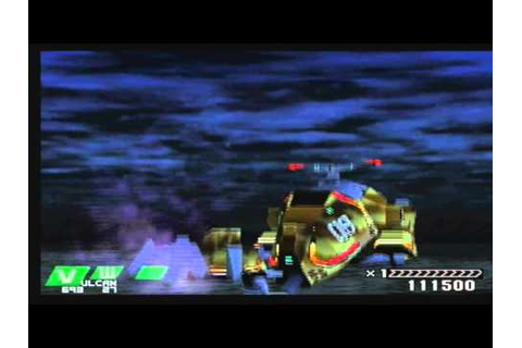 Einhander PS1 gameplay - YouTube