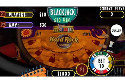Hard Rock Casino Game | PSP - PlayStation
