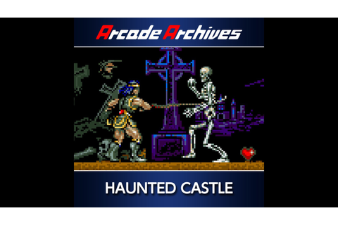 Arcade Archives HAUNTED CASTLE Game | PS4 - PlayStation