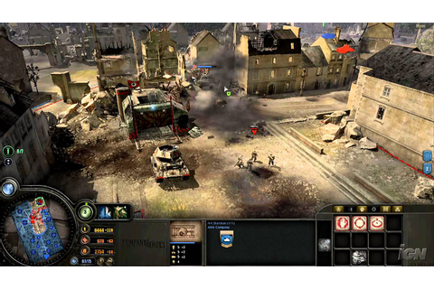 Company of Heroes PC Games Review - Video Review - YouTube