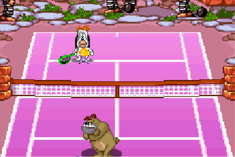 Droopy's tennis open - Symbian game. Droopy's tennis open ...