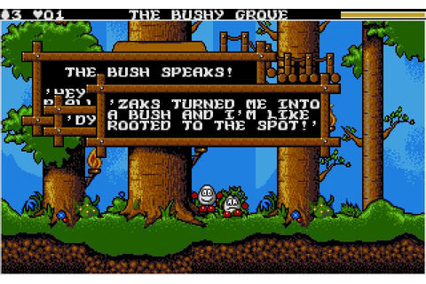 Magicland Dizzy Download (1993 Arcade action Game)