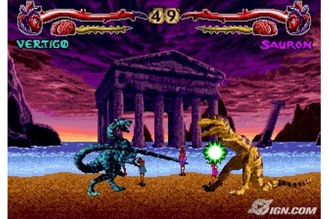Primal Rage Screenshots, Pictures, Wallpapers - Sega 32X - IGN