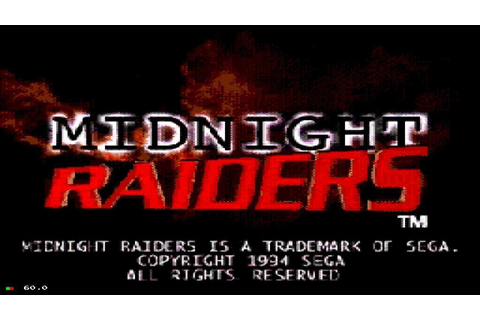 Midnight Raiders | HD | SEGA CD | FUSION EMULATOR - YouTube