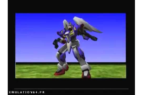 Super Robot Spirits (Nintendo 64) - YouTube