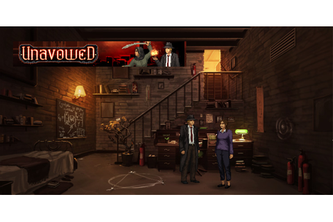 Unavowed: A Shockingly Dark Urban Fantasy Adventure