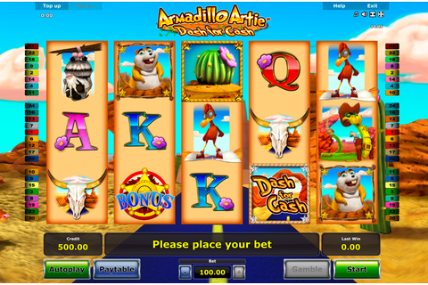 Armadillo Artie - | FREE casino slots online | Play at ...
