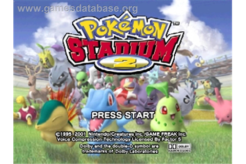 Pokemon Stadium 2 - Nintendo N64 - Games Database