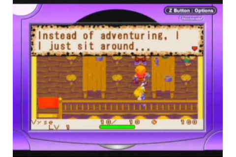 Dokapon: Monster Hunter Game Sample - GBA - YouTube