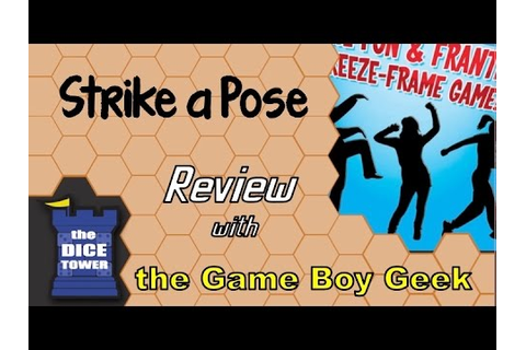 Strike a Pose Review - with the Game Boy Geek - YouTube
