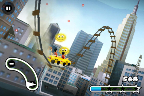 3D Rollercoaster Rush NewYork APK Download - Free Arcade ...