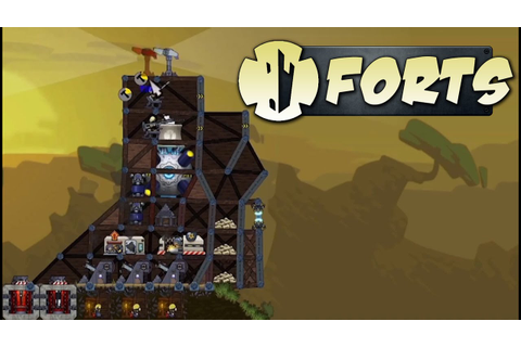 Forts Gameplay - PAX Preview (Physics-Based Action RTS ...