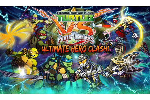 Teenage Mutant Ninja Turtles VS Power Rangers: Ultimate ...