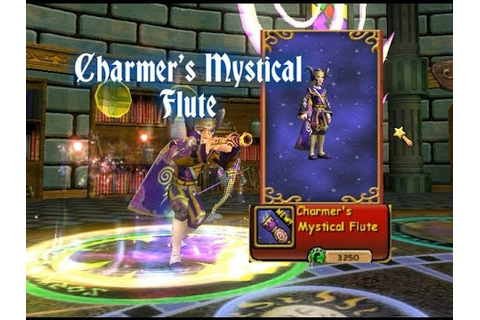 Charmer's Mystical Flute Wand (Wizard101) - YouTube