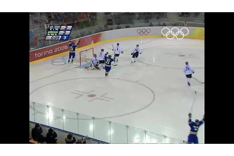 Finland vs Sweden - Men's Ice Hockey Final - Turin 2006 ...