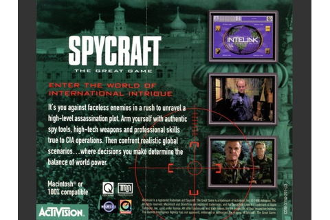 Spycraft: The Great Game - Macintosh Repository
