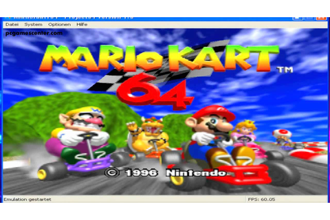 Mario Kart 64 PC Game Free DownloadPC Games Center