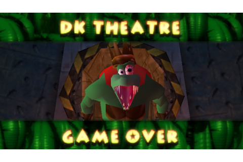 Donkey Kong 64 - Game Over - YouTube