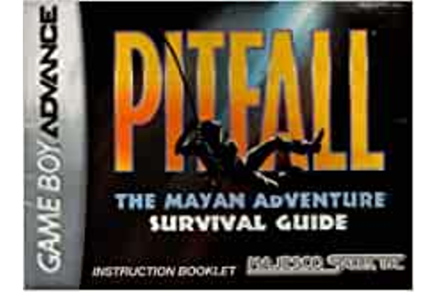 Pitfall - The Mayan Adventure GBA Instruction Booklet ...