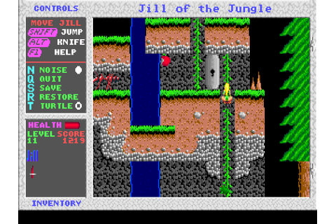 Download Jill of the Jungle | DOS Games Archive