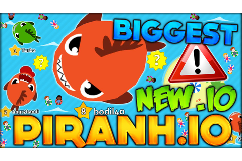 BECOMING THE BIGGEST FISH IN THE NEW BEST .IO GAME ...