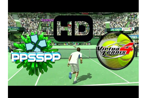 Virtual Tennis PPSSPP game HD Android - YouTube