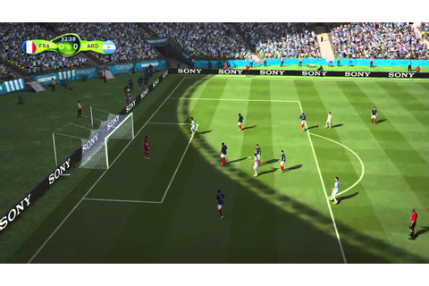 PS4 FIFA World Cup Brasil 2014 Gameplay - YouTube