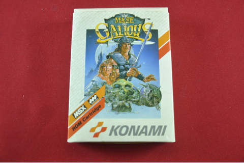 The Maze of Galious MSX game from Konami - Catawiki