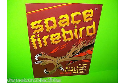 SPACE-FIREBIRD-By-GREMLIN-1980-ORIGINAL-NOS-VIDEO-ARCADE ...