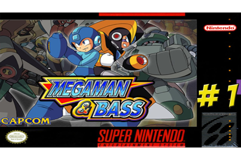SNES: Mega Man & Bass! Part 1 - YoVideogames - YouTube